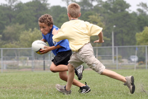 Rugby is growing in youth popularity.