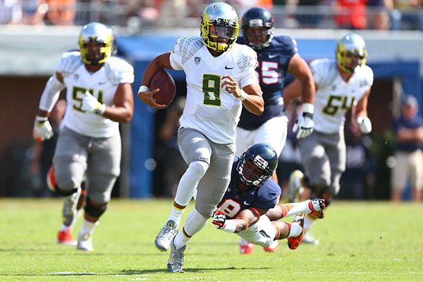 Oregon was a popular pick for 2014. Who will be the pick for 2015?