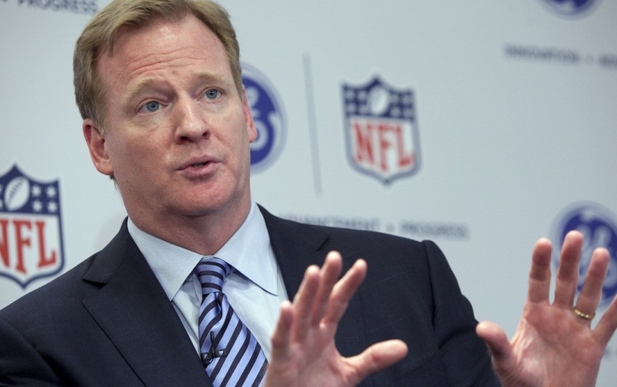 Roger Goodell and the NFL have been very inconsistent in dealing with domestic violence.