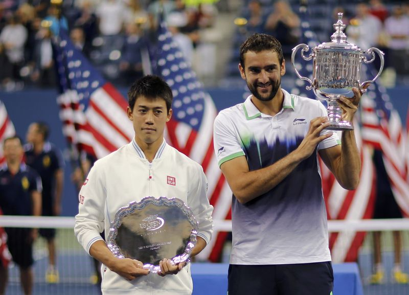 The 2014 U.S. Open finals included unfamiliar faces in Kei Nishikori and champion Marin Cilic.