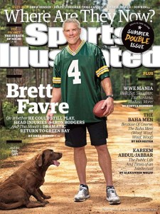 Brett Favre told Sports Illustrated that he could still play in the NFL.
