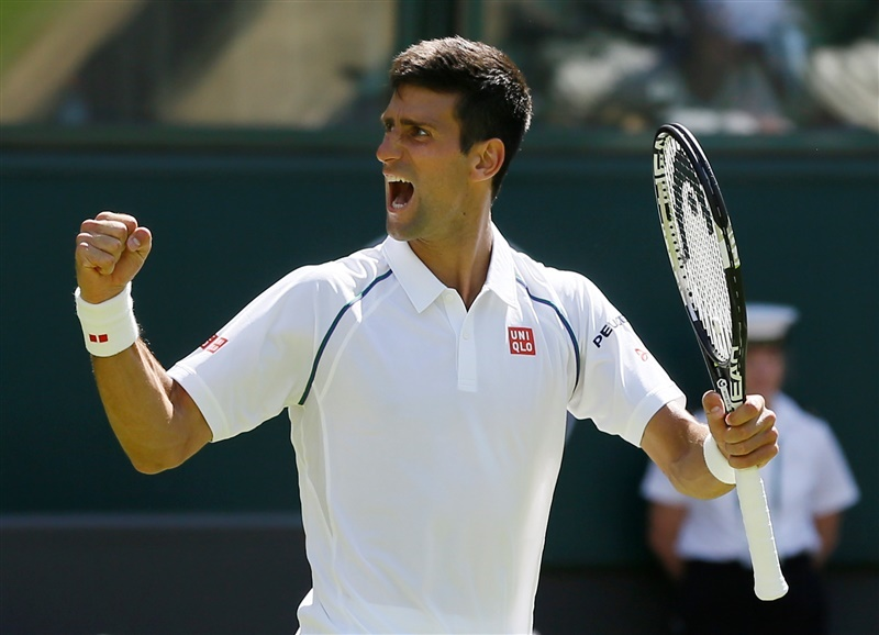 Defending champion Novak Djokovic is among the favorites to win the 2015 Wimbledon men's title.