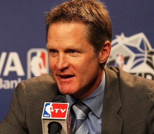 Steve Kerr led the Golden State Warriors to an NBA title in his first year as coach.