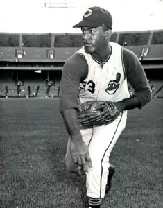 Luis Tiant broke in with and won an ERA title for the Cleveland Indians.