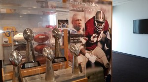 Charles Haley is the only player to play on five Super Bowl Champion teams.
