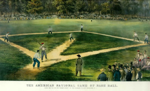 Though the game of baseball has evolved quite a bit since its early days, there are still many components that are similar.
