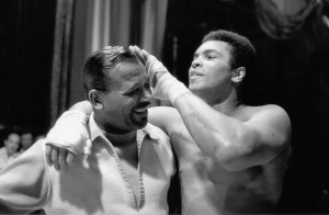 So who was pound-for-pound better? Muhammad Ali or Sugar Ray Robinson?