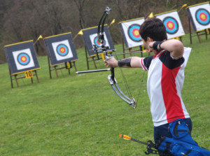 Archery has become a popular outdoor sport.