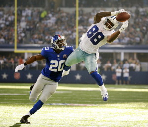 Dez Bryant has tremendous hands and size allowing him to make big plays