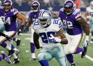 Former Oakland Raider Darren McFadden was signed by Dallas to help pick up the slack in the running game left behind by the free agent departure of DeMarco Murray
