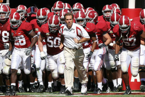 Nick Saban and the Crimson Tide will be opening the 2015 season with a tough neutral site matchup.