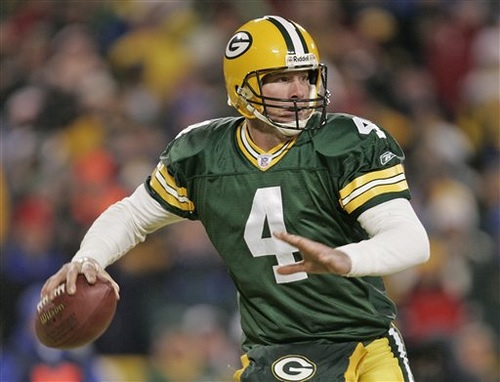 Though Peyton Manning is closing quickly, Brett Favre is currently the NFL's career leader for passing yards.