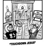 History of Notre Dame Football's Touchdown Jesus