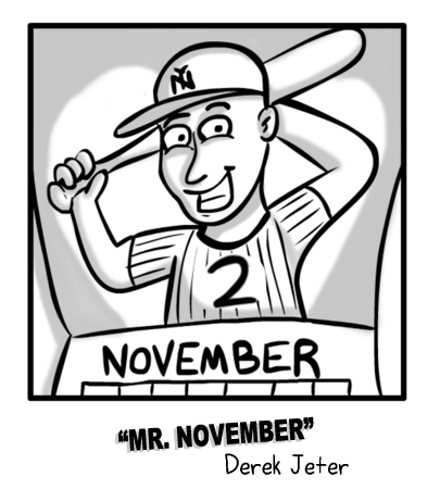 MIKE sports comic Mr. November
