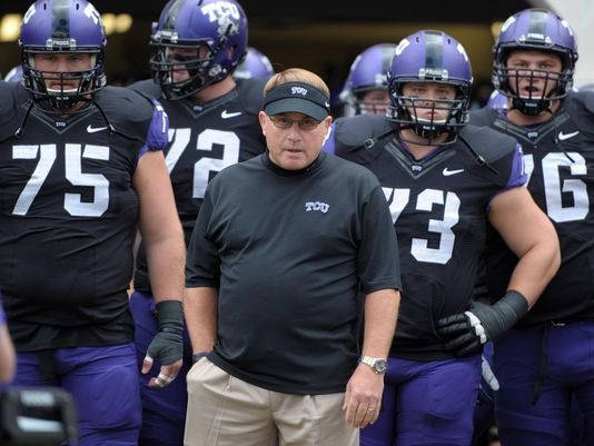 The next month will determine if Gary Patterson and TCU are playoff bound or left out as they were in 2014.