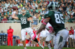 The health of Michigan State quarterback Connor Cook could be a big factor in their Cotton Bowl game against Alabama.