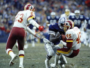 The Cowboys-Redskins rivalry enjoyed some of its top moments in the 1980's.