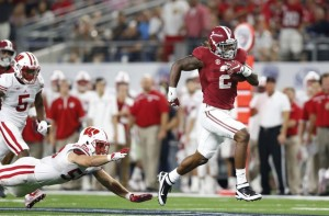 Derrick Henry had a huge game earlier this season against Wisconsin. Can he have similar success against Michigan State?