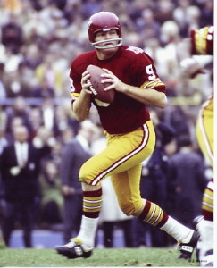 Sonny Jurgensen helped shape the Cowboys-Redskins rivalry in the 1960's.