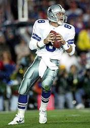 Troy Aikman played some of his biggest games against the Redskins.