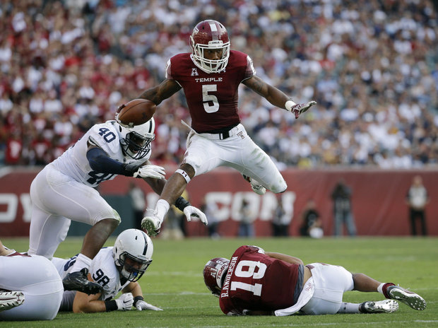Toledo is the only hurdle remaining for Jahad Thomas and the Temple Owls to an 11 win season.