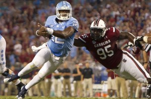 The only loss for Marquise Williams and the UNC Tar Heels this season was the season opener to South Carolina. Another Palmetto State team will look to recreate history in the ACC Championship Game.