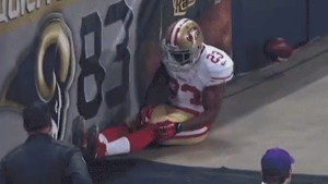 The 2015 season for Reggie Bush ended with a freak injury on the sideline in St. Louis.