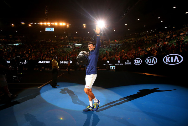 Novak Djokovic claimed his 11th grand slam title and sixth Australian Open.