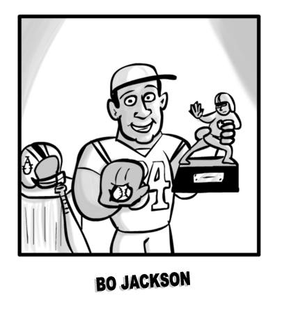 MIKE Comic 132 Bo Jackson
