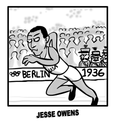 MIKE Comic 136 Jesse Owens