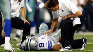 Losing Tony Romo to a broken collarbone twice in the 2015 season derailed the season for the Dallas Cowboys.