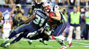 Julian Edelman made several big catches in two fourth quarter touchdown drives of Super Bowl XLIX.