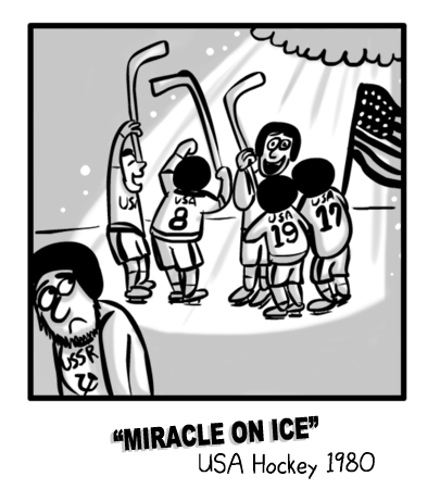 MIKE Sports Comic - Miracle on Ice