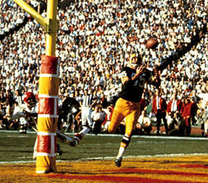 Max McGee caught more passes in Super Bowl I than he did during the entire 1966 season.