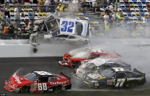 NASCAR-crash