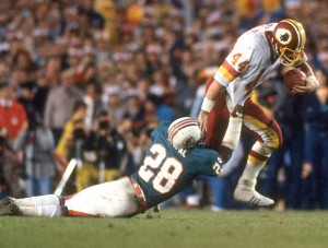 The broken tackle and fourth down touchdown run by John Riggins in Super Bowl XVII is one of the biggest plays in Super Bowl history.