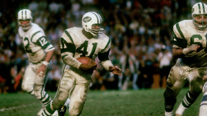 The Baltimore Colts could not stop Matt Snell in Super Bowl III.