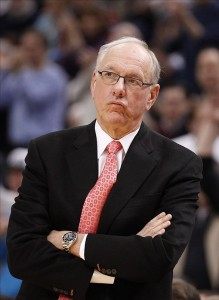 In his 40th season as head coach of the Orange, Jim Boeheim finds his team sitting on the NCAA bubble.