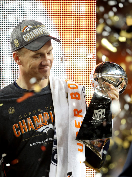 Peyton Manning will retire as a two--time Super Bowl champion.