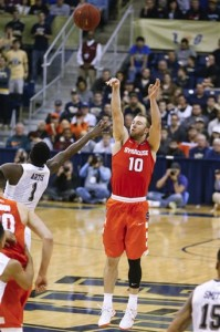Trevor Cooney is a key three-point shooter for Syracuse.