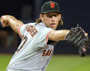 Madison Bumgarner will look to build on his 18 win season of 2015 as the Giants look for their fourth World Series title of the decade.