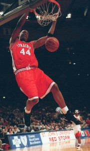 John Wallace scored 29 points against Kentucky in the 1996 NCAA final before fouling out.