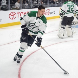 Jamie Benn scored 41 goals and had 48 assists for the Dallas Stars during the regular season.