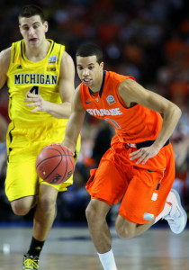 Michael Carter-Williams helped lead the Orange to the Final Four in 2013.