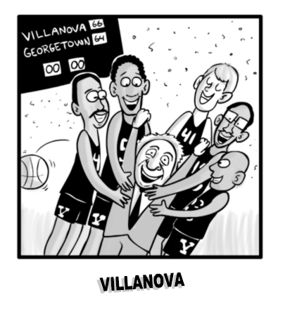 Villanova 1985 NCAA Champs