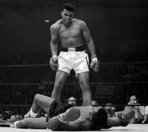 Though he had previously won an Olympic gold medal, Muhammad Ali burst on the scene with a stunning defeat of Sonny Liston and was the most recognized boxer in the world for generations.