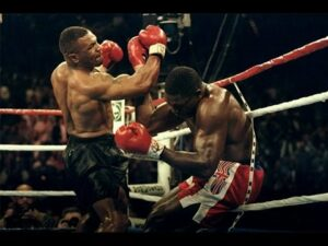 Mike Tyson won 44 matches by knockout during his career.
