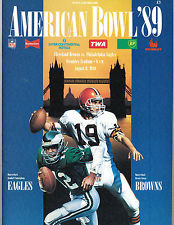 Before regular season games were played in London, the NFL hosted an annual exhibition game at Wembley Stadium.