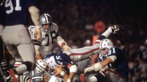 The NFL Preseason used to include an exhibition game between the NFL Champion and a team of NFL rookies.