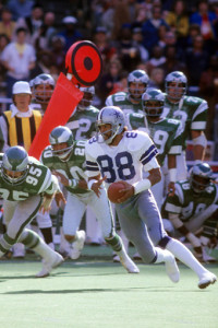 Drew Pearson is one of several deserving wide receivers who has not been inducted into the Pro Football Hall of Fame.